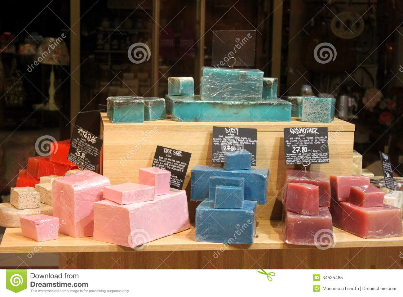Soaps with natural flavors