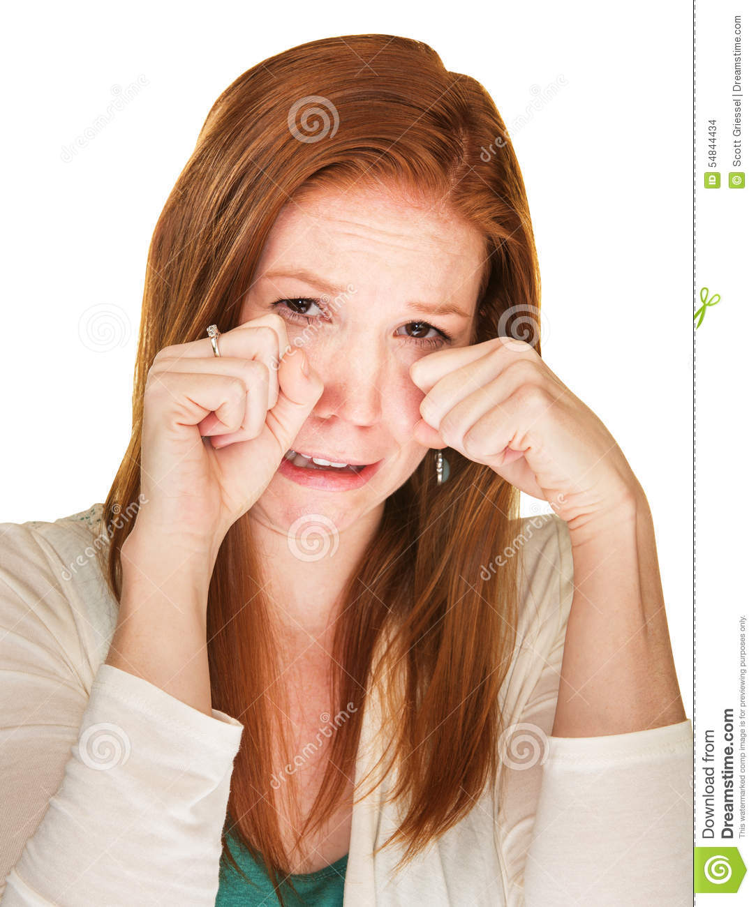 sobbing woman rubbing her eyes stock photo image of frowning