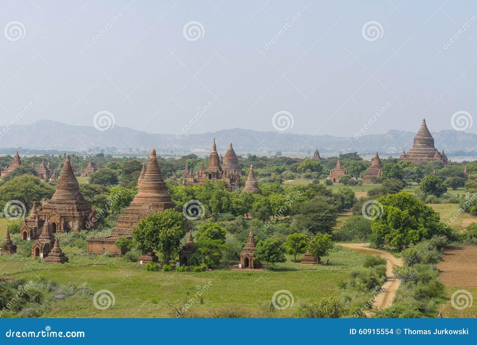 Sobre los templos de Bagan