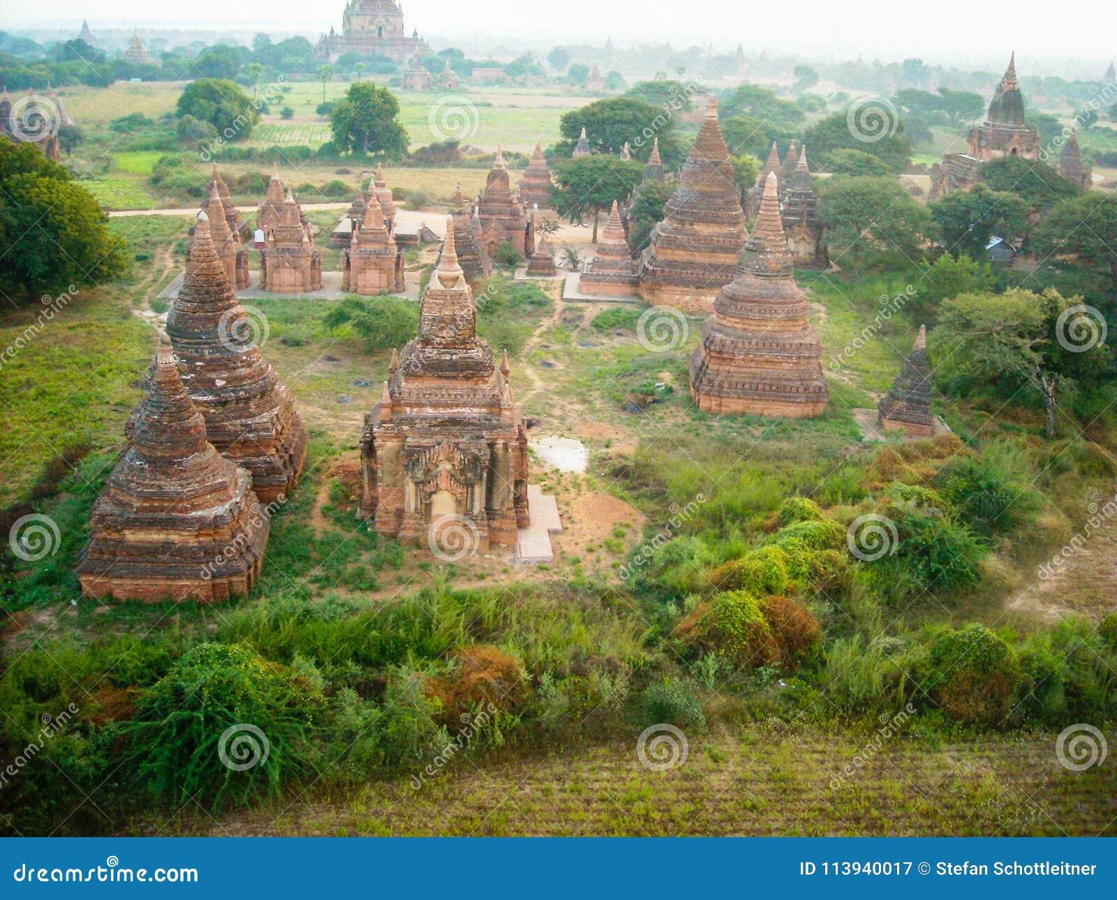 Sobre los templos de Birmania