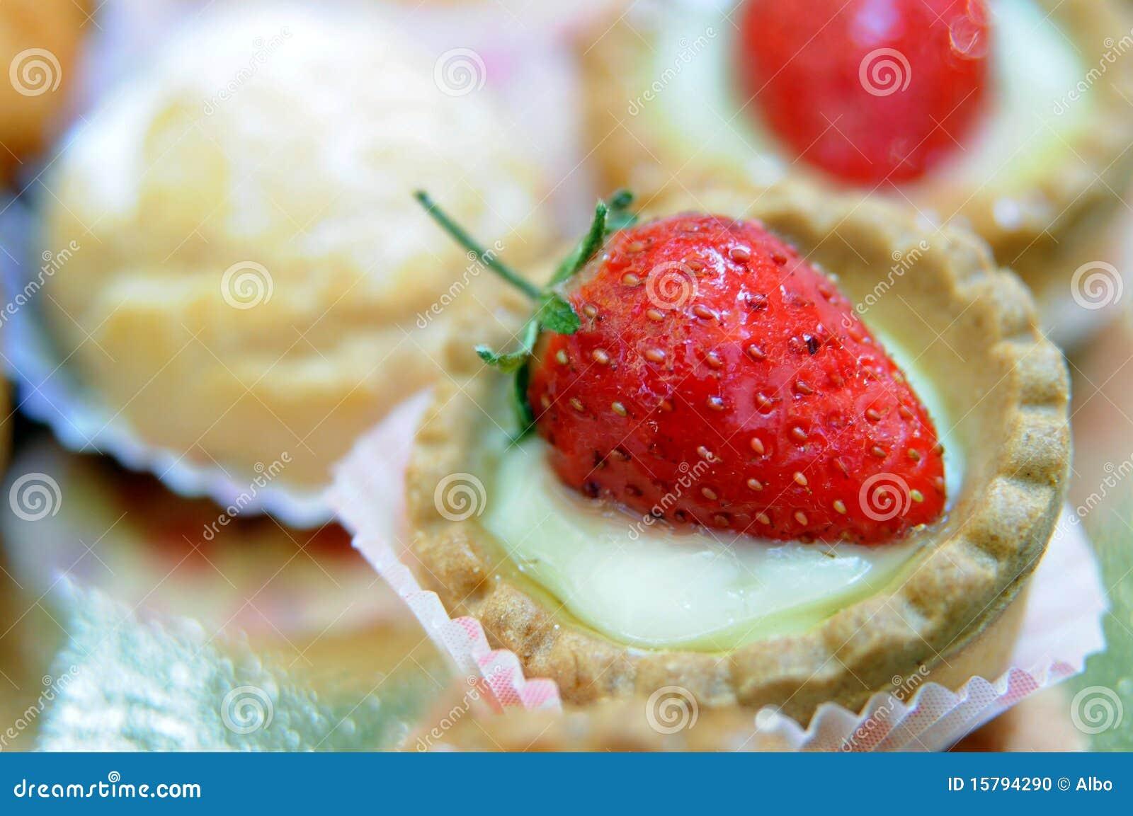 Sobremesa da morango
