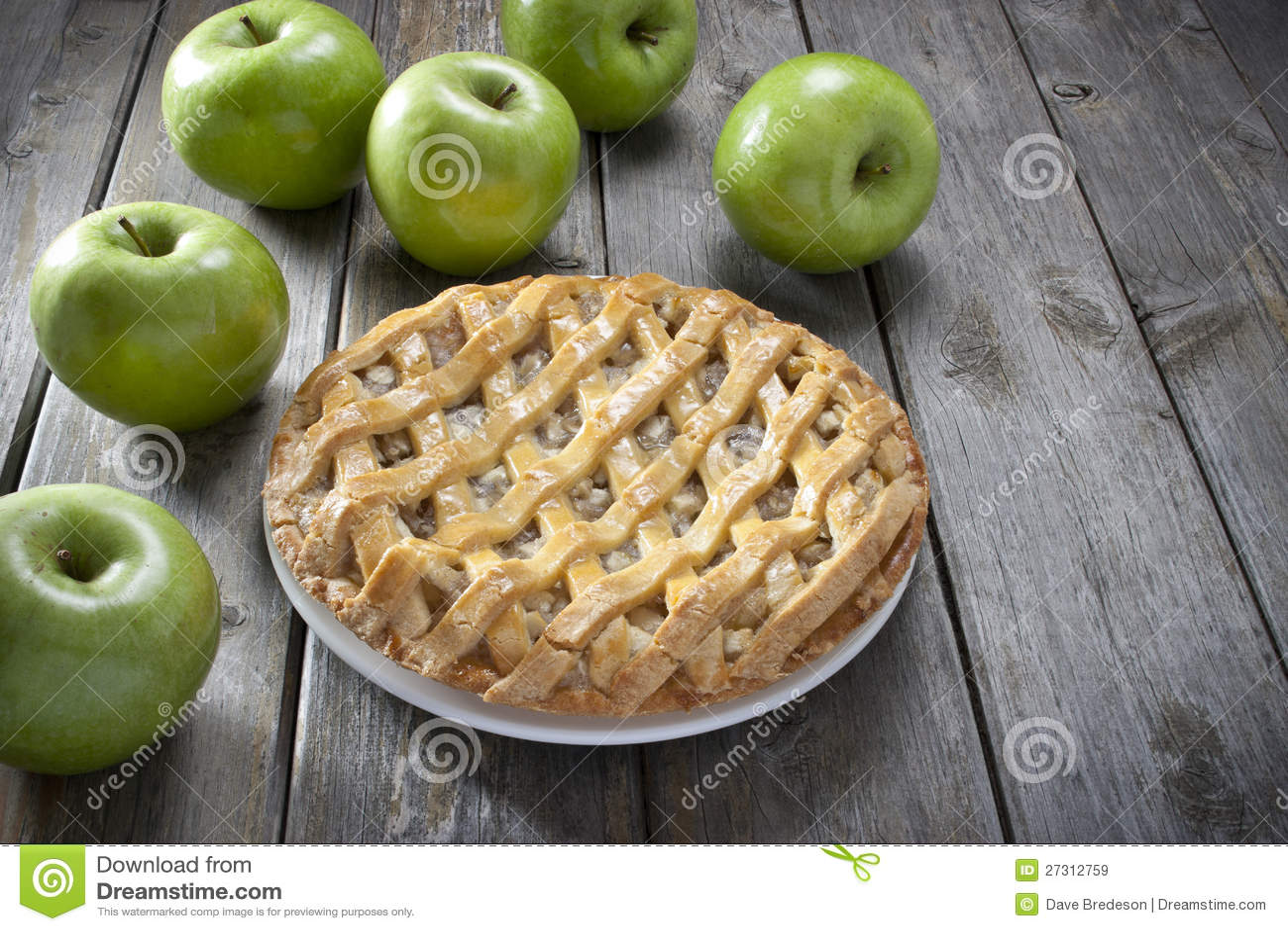 Sobremesa da torta de Apple