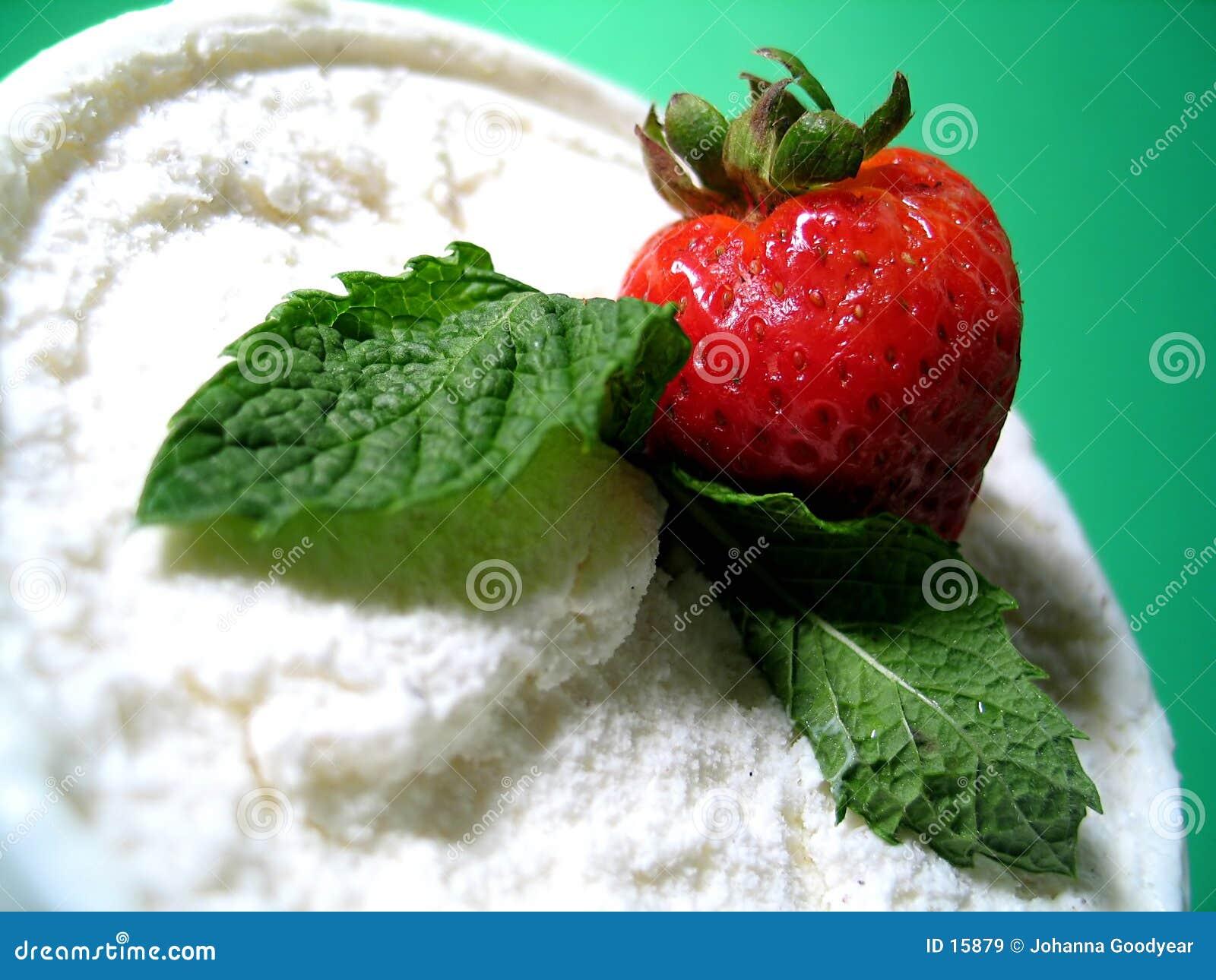 Sobremesa do gelado