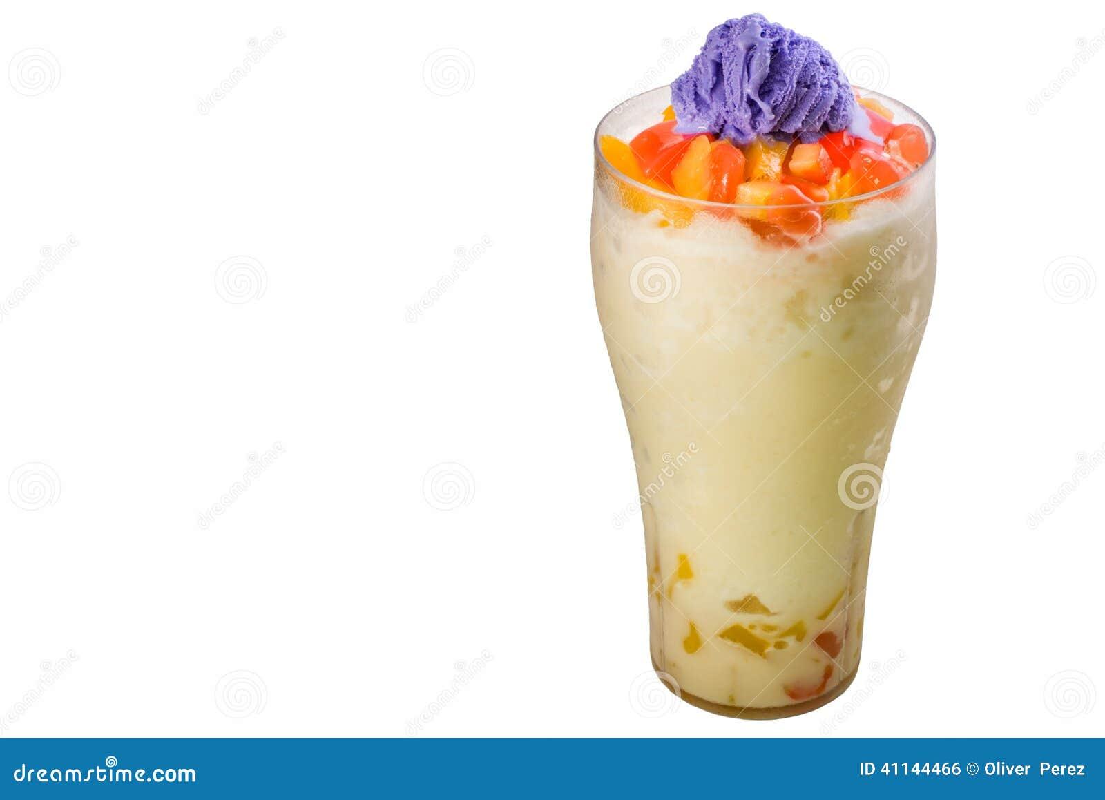 Sobremesa filipina, opinião lateral do halo do halo