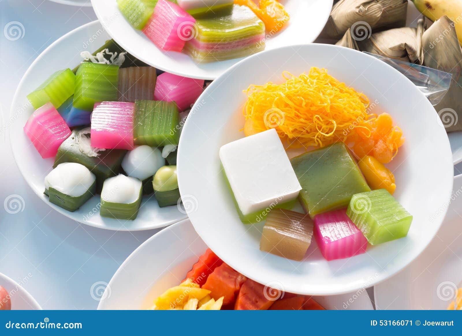 Sobremesa tailandesa
