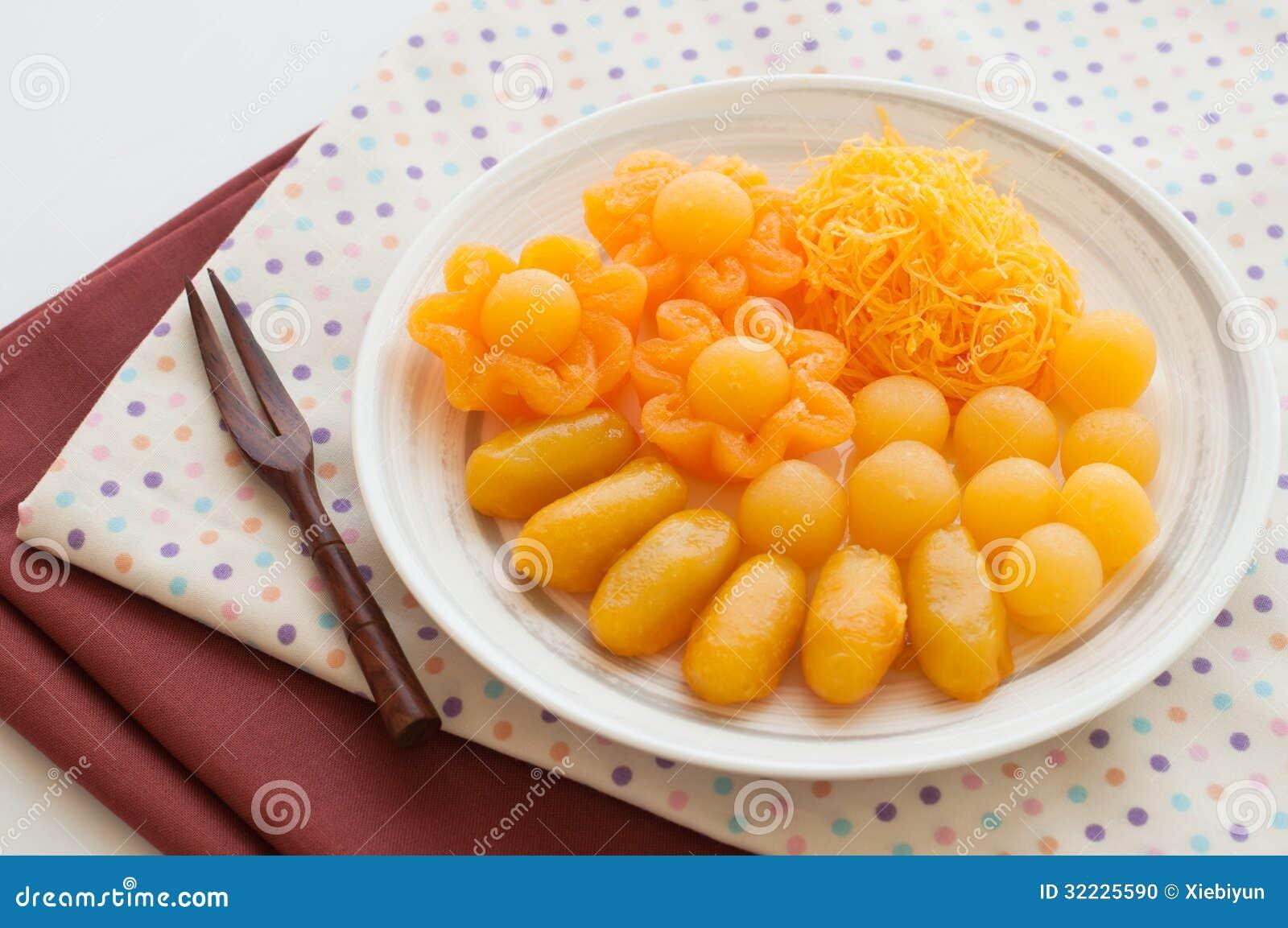 Download Sobremesas Tailandesas Favoritas Foto de Stock - Imagem de snack, gourmet: 32225590