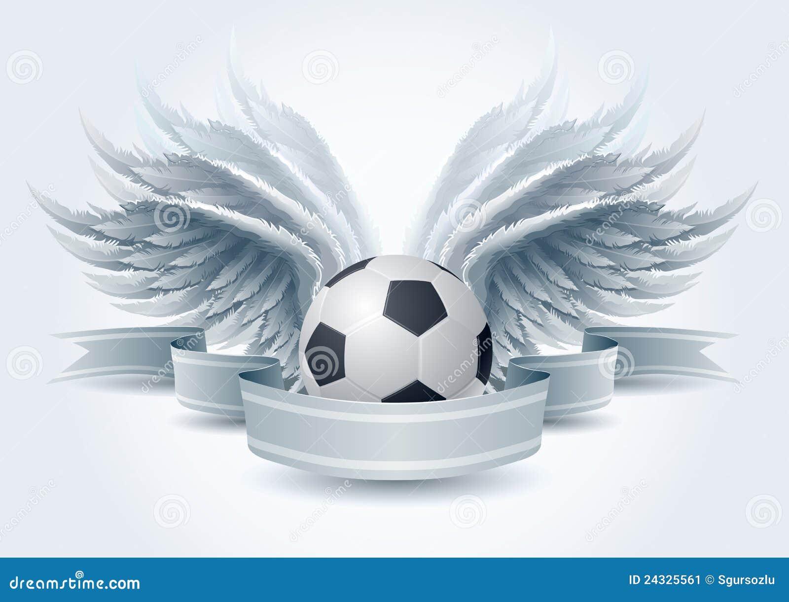 Soccer angel banner stock vector. Image of illustration ... | 1300 x 1009 jpeg 213kB