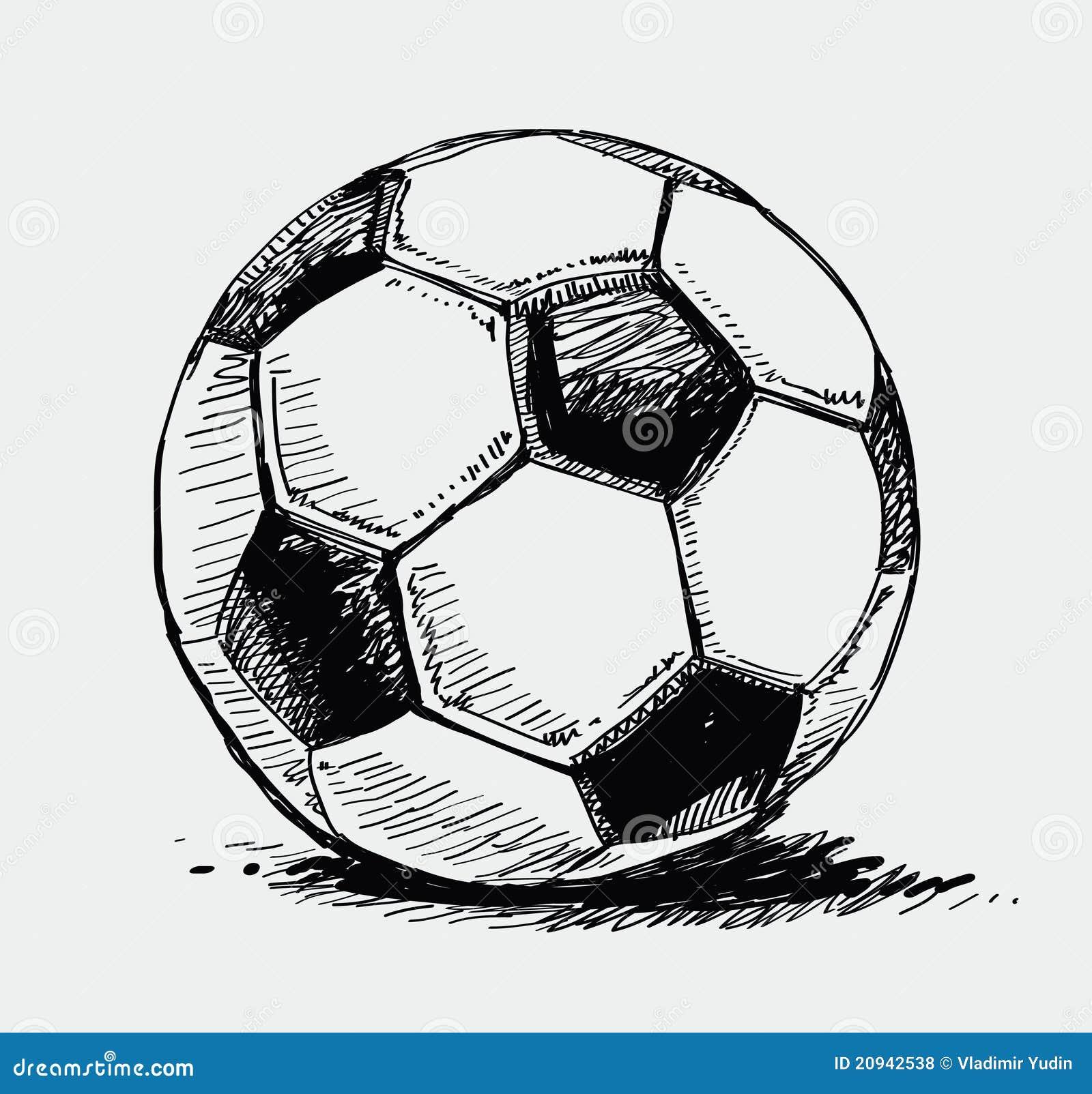 Soccer Ball Drawing Soccer ball sto...