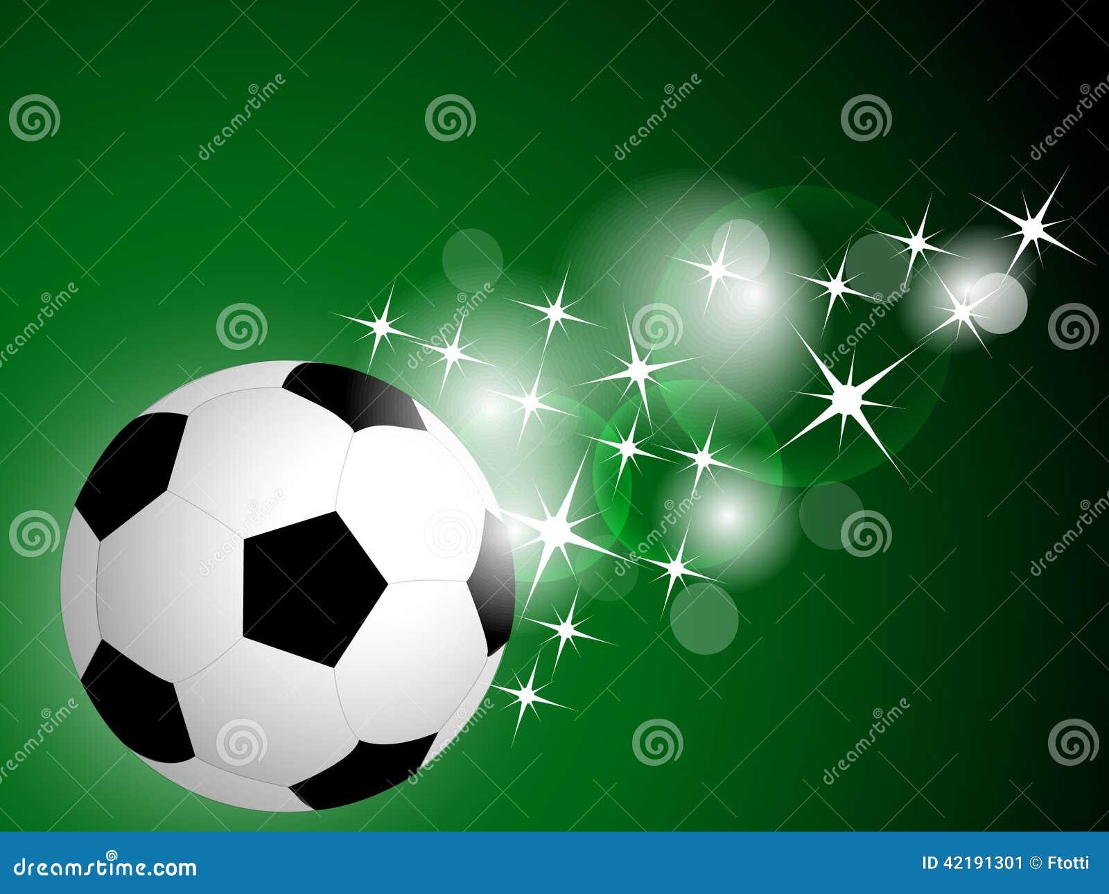 Deportes Pelotas Fondo Grunge: Soccer Ball Background Stock Vector