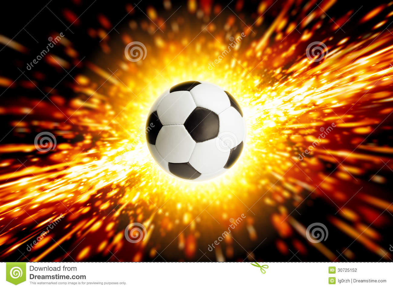 Soccer ball fire Images and Stock Photos 1546 Soccer