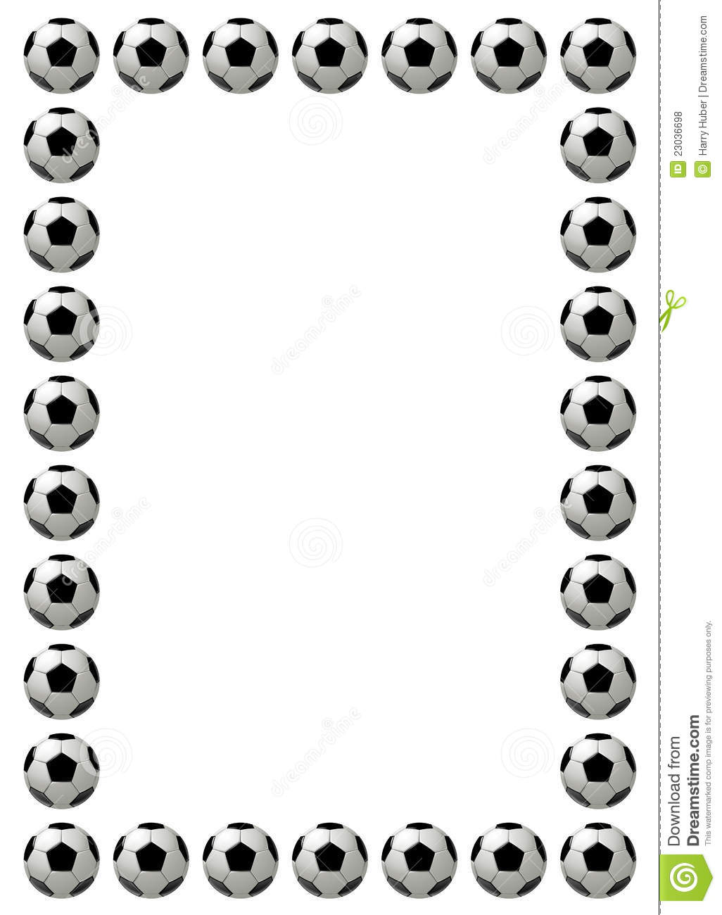 Football Border ...Clipart Gallery Microsoft Office