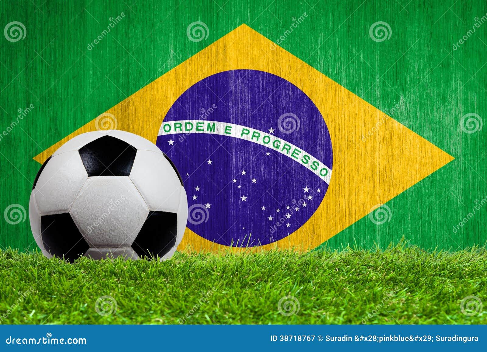 Brazil Flag Close Up