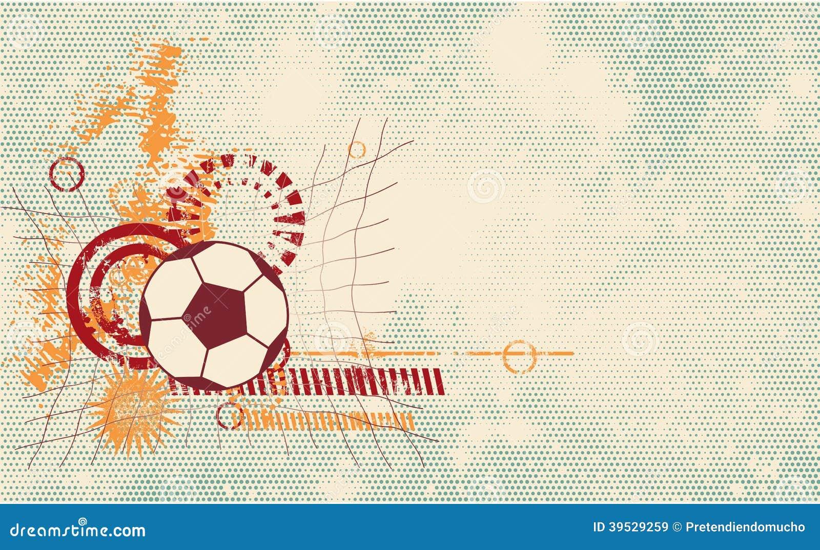 soccer ball modern template stock vector illustration of ornament