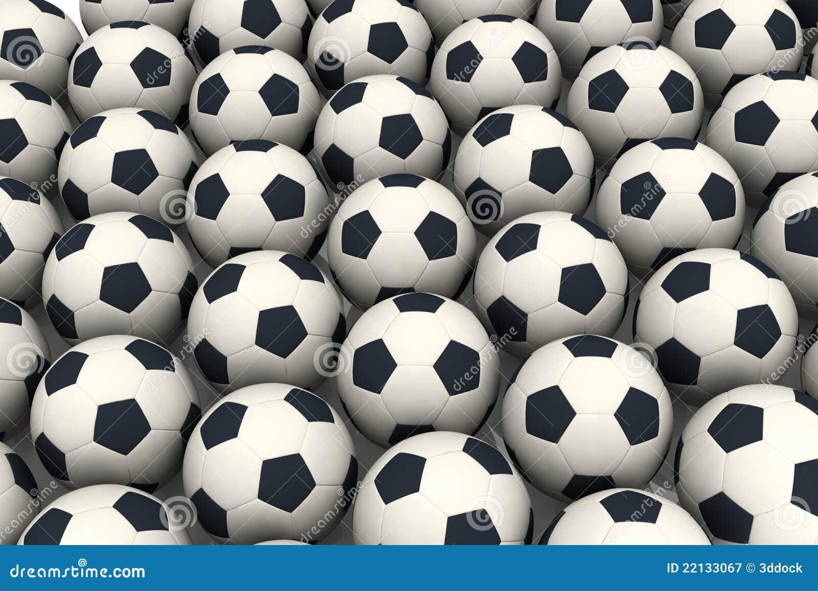 Soccer Balls Royalty Free Stock Photography - Image: 22133067