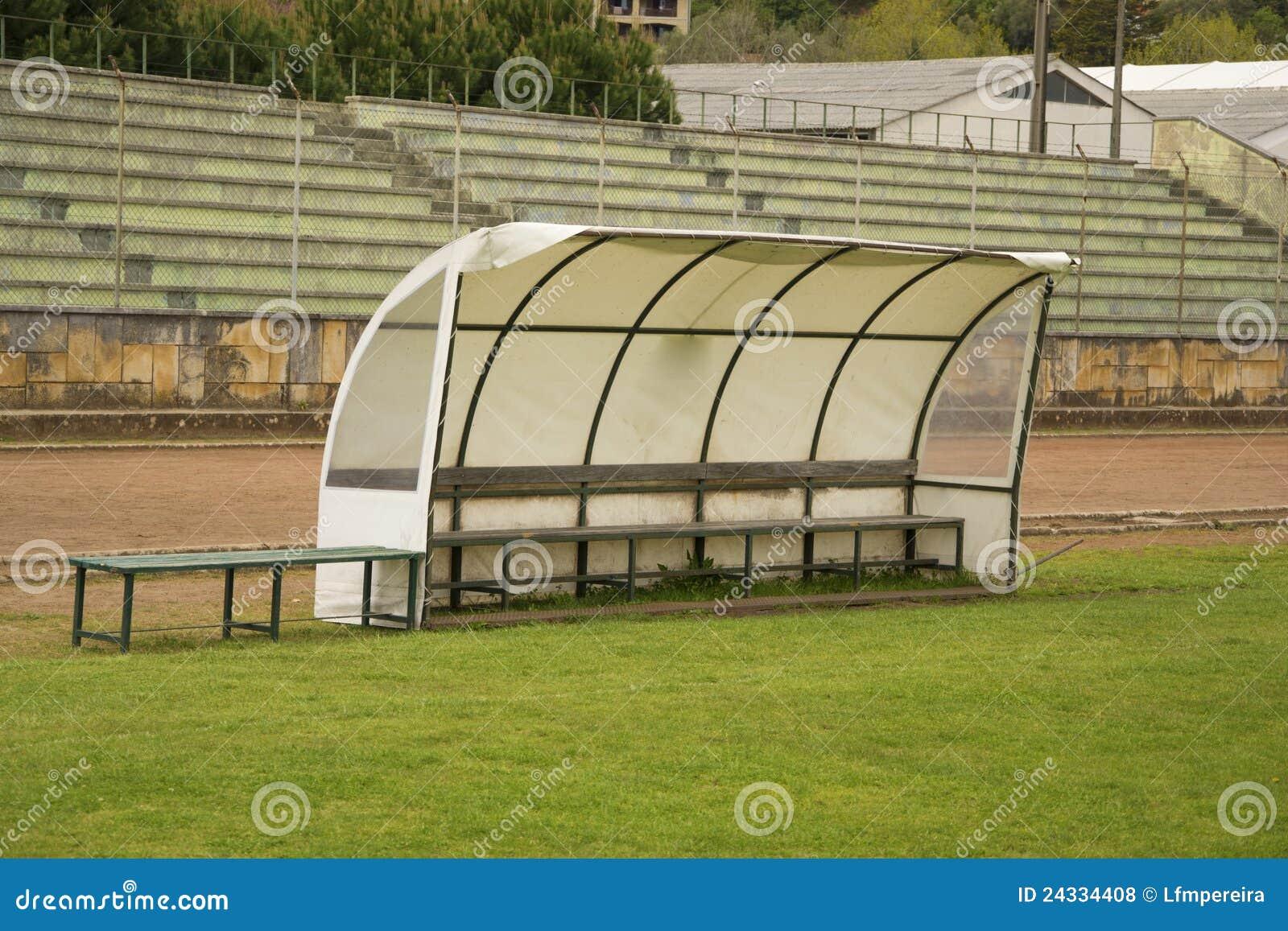 Soccer Bench Royalty Free Stock Photos Image 24334408