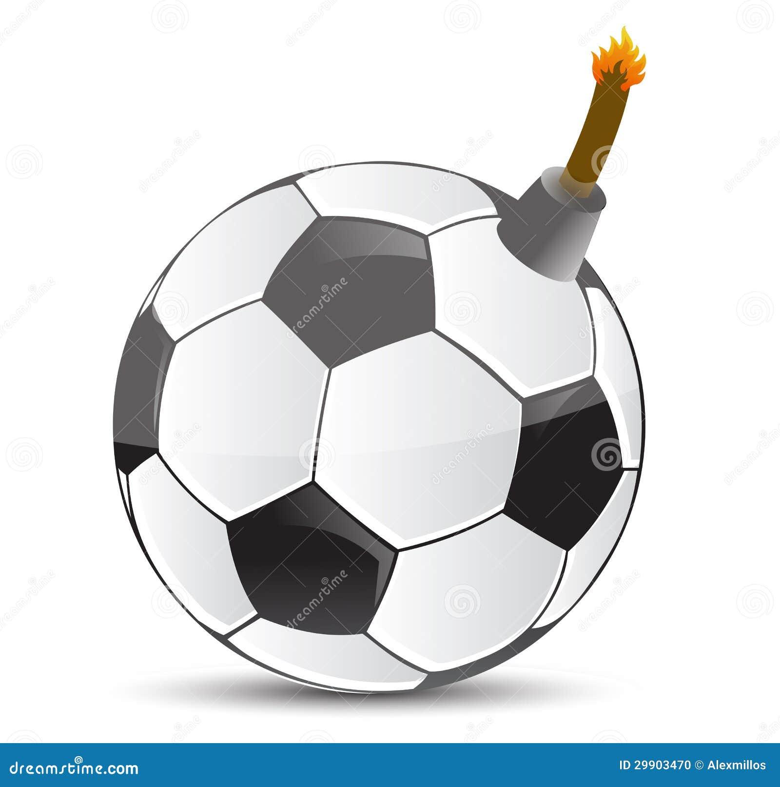 Soccer Bomb Stock Photo - Image: 29903470