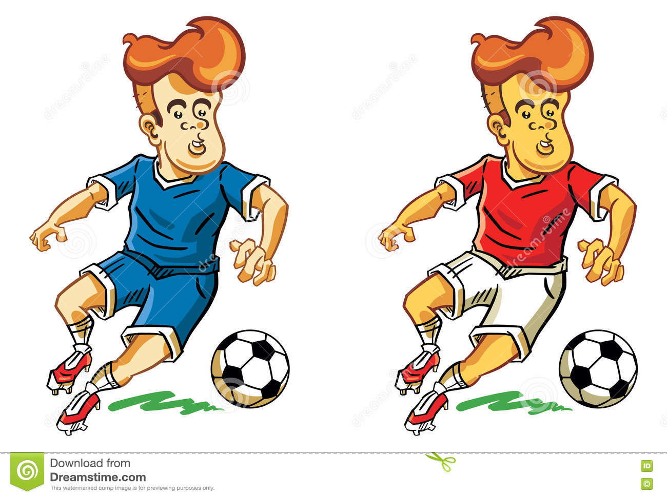 soccer cartoon stock illustration illustration of popular