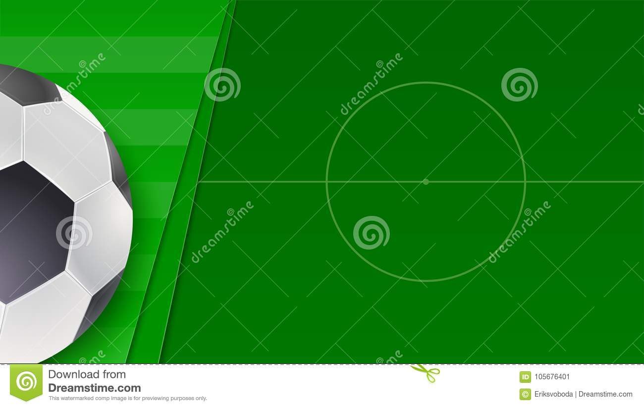 image about Printable Football Field Template known as Football Or Ecu Soccer Inexperienced Market. Horizontal Banner