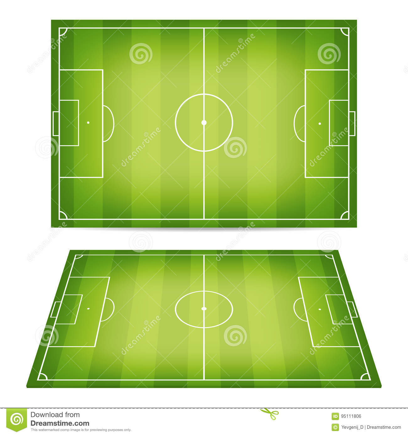 Vector Grass Football Field Background Royalty Free Cliparts, Vectors, And  Stock Illustration. Image 101925380.