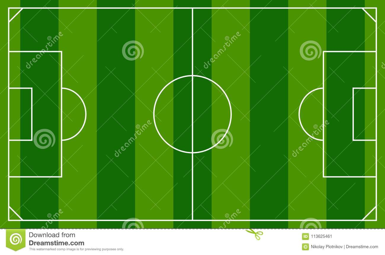 Soccer field or european football field background template top soccer field or european football field background template top view field maxwellsz