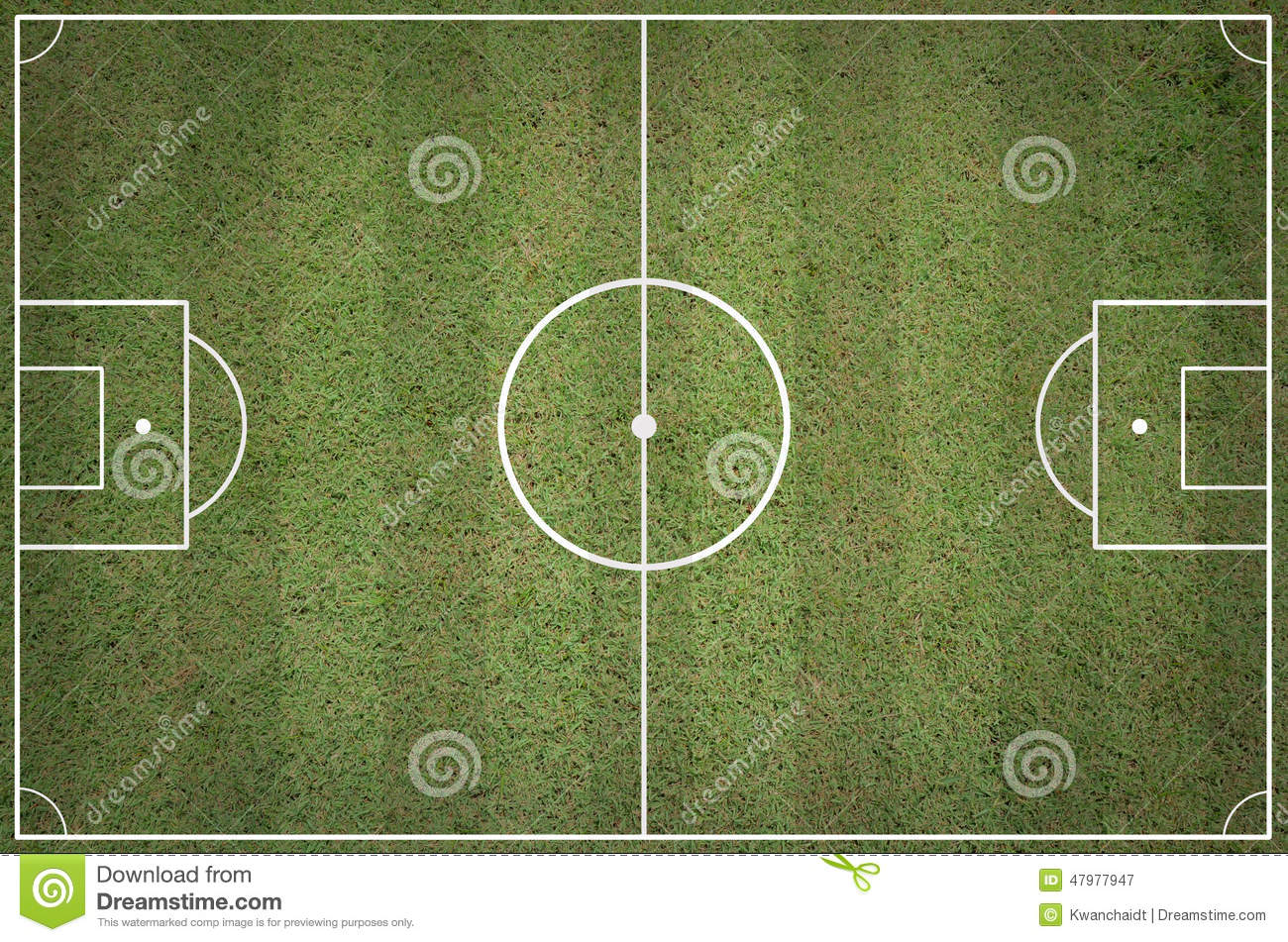 Soccer Field Layout Stock Image Of Game Competition 47977947 American Football Diagram