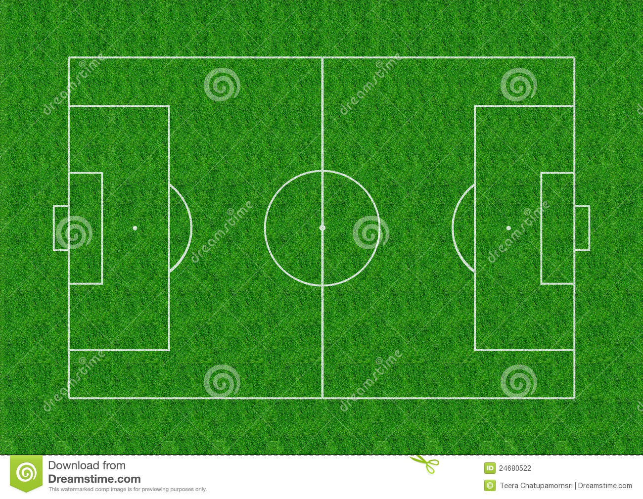 Soccer Field Layout On...