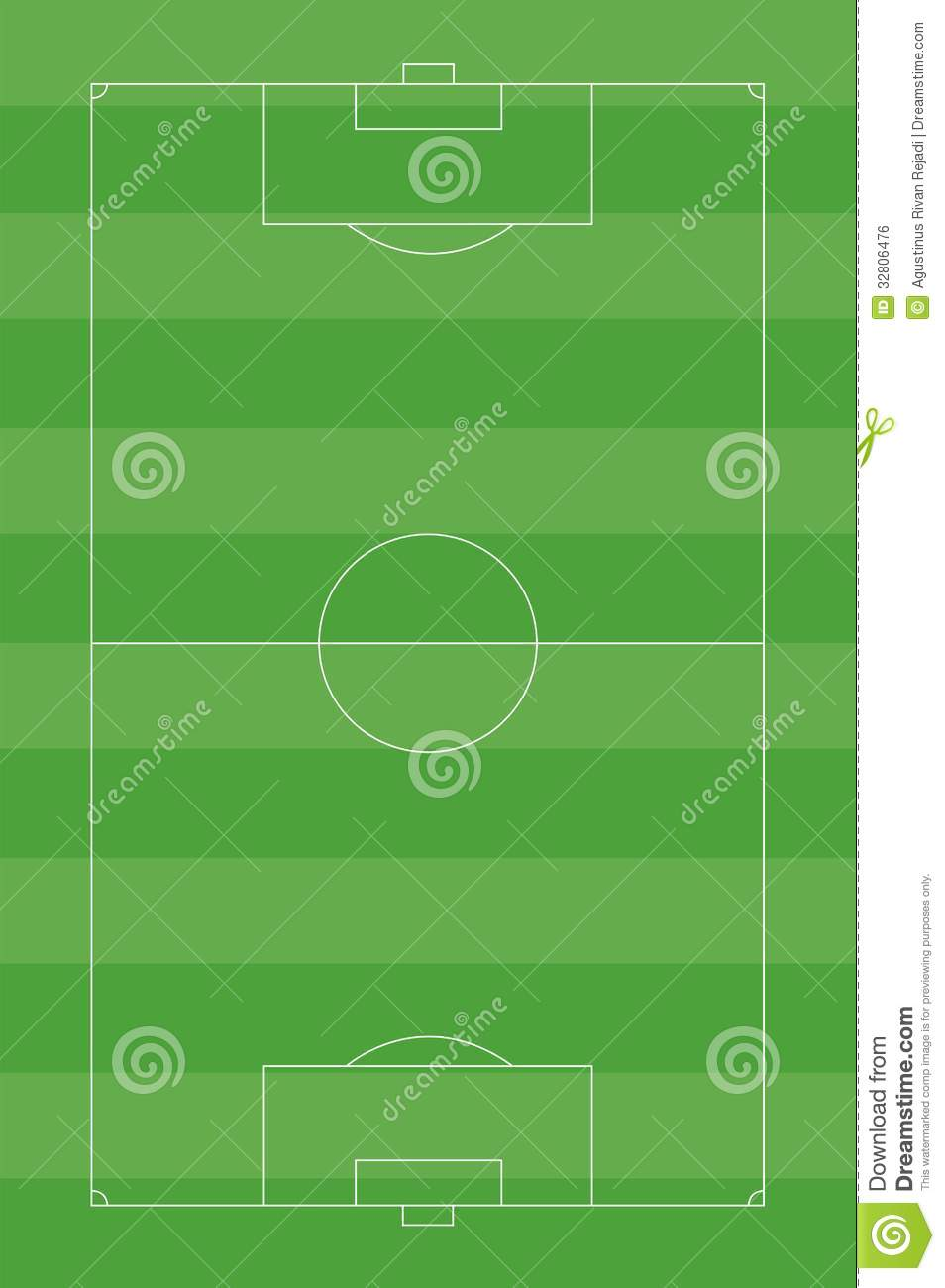 Soccer Field Royalty Free Stock Image Image 32806476