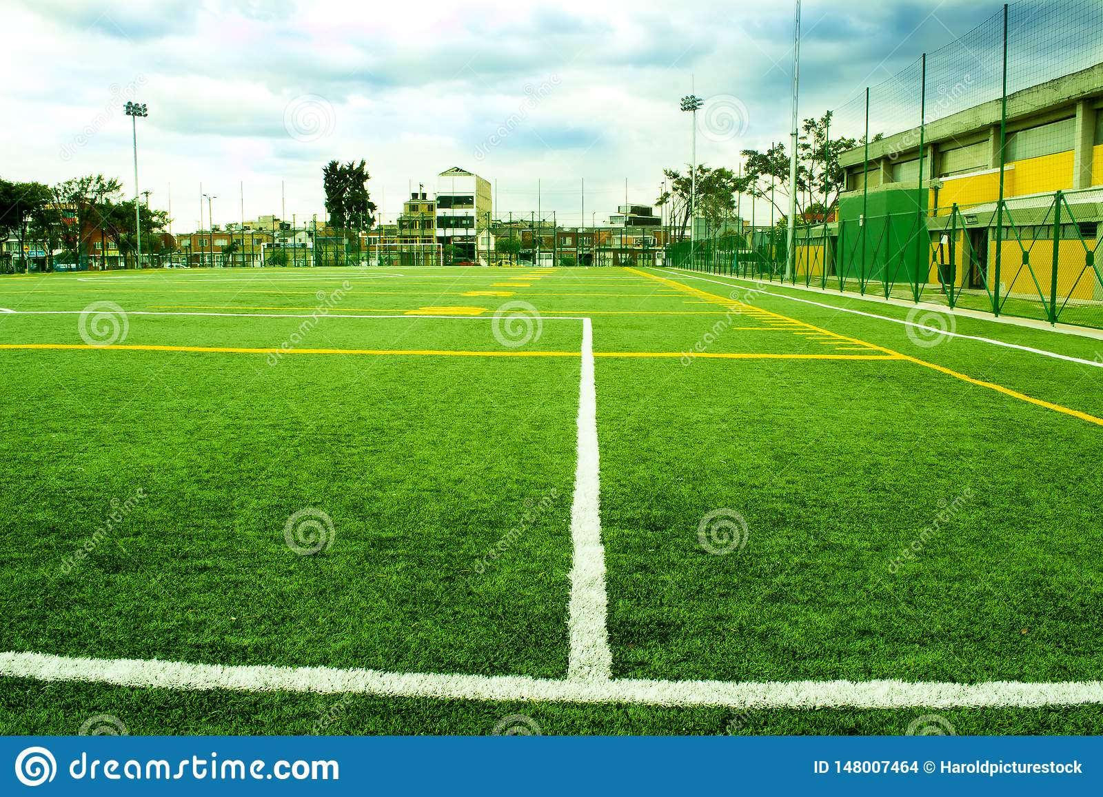 Soccer and Fooball Area Field