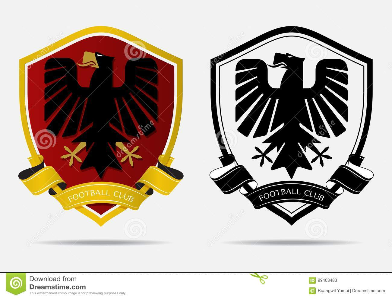 soccer football badge logo design template sport team identity