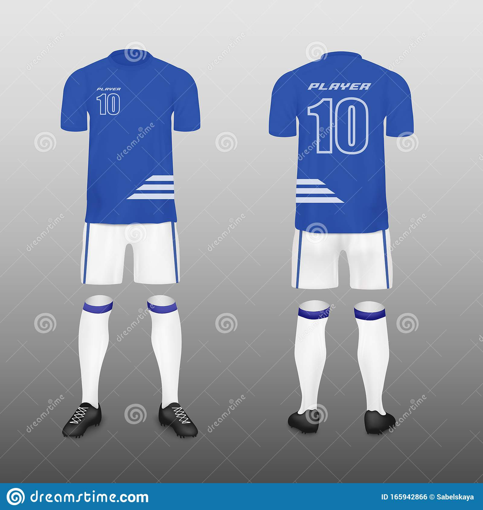 football jersey and pants