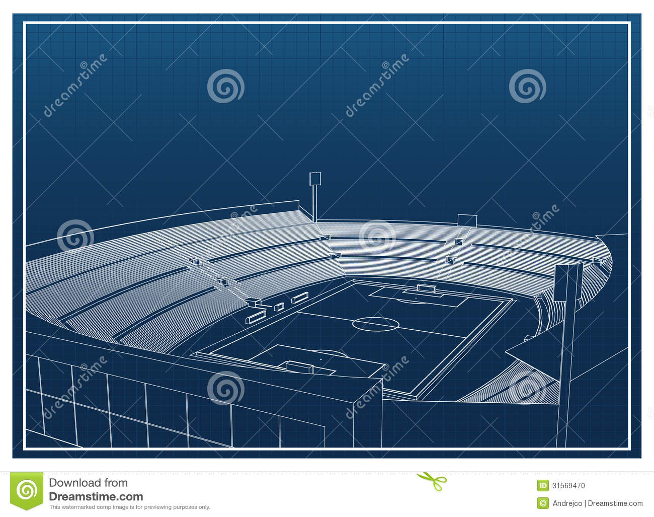 Soccer football stadium stock vector illustration of background download comp malvernweather Gallery