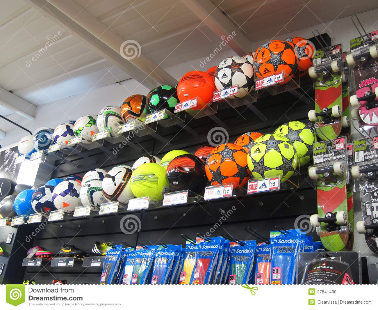 Soccer Sports Shop 107