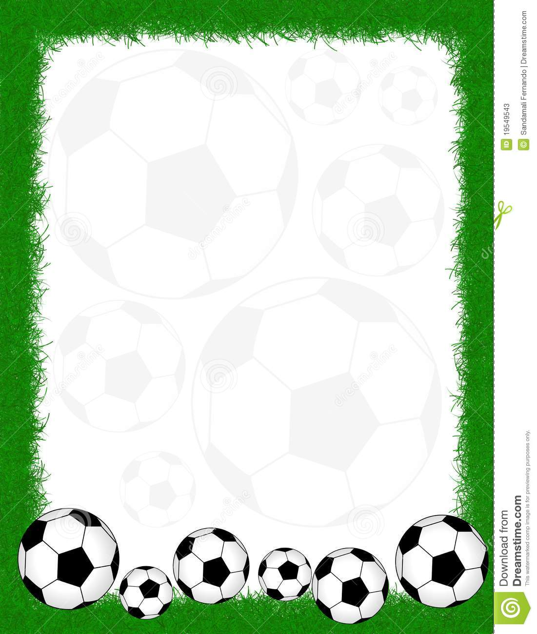 soccer frame    border stock photos