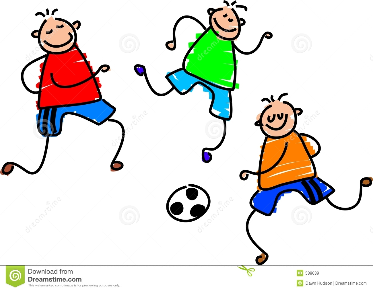 Soccer game stock vector. Illustration of activities, leisure - 588689
