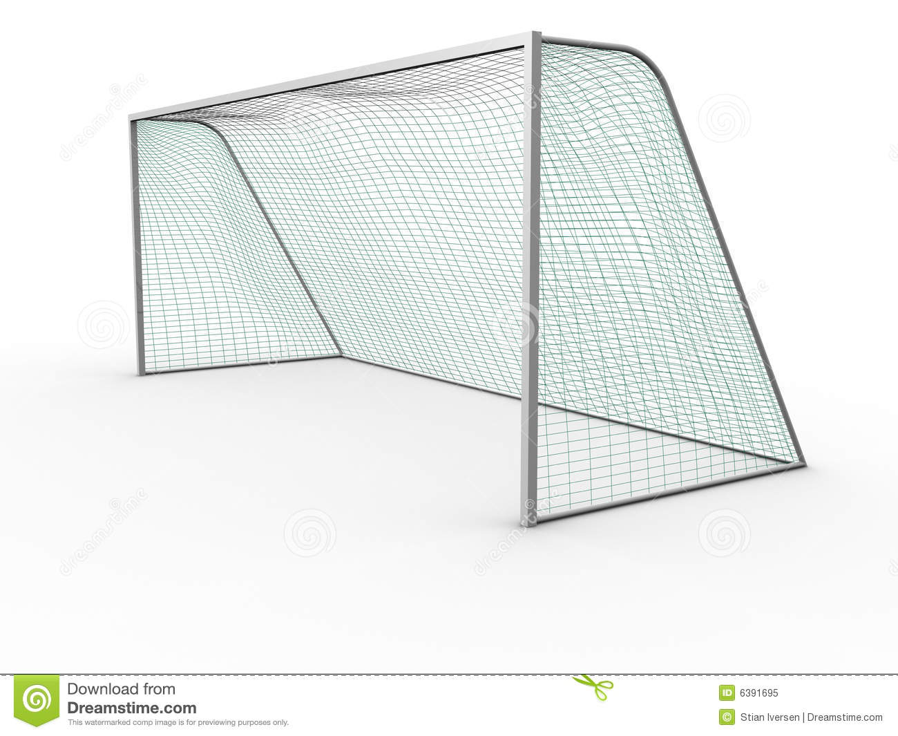 Soccer Goal Royalty Free Stock Photo Image 6391695