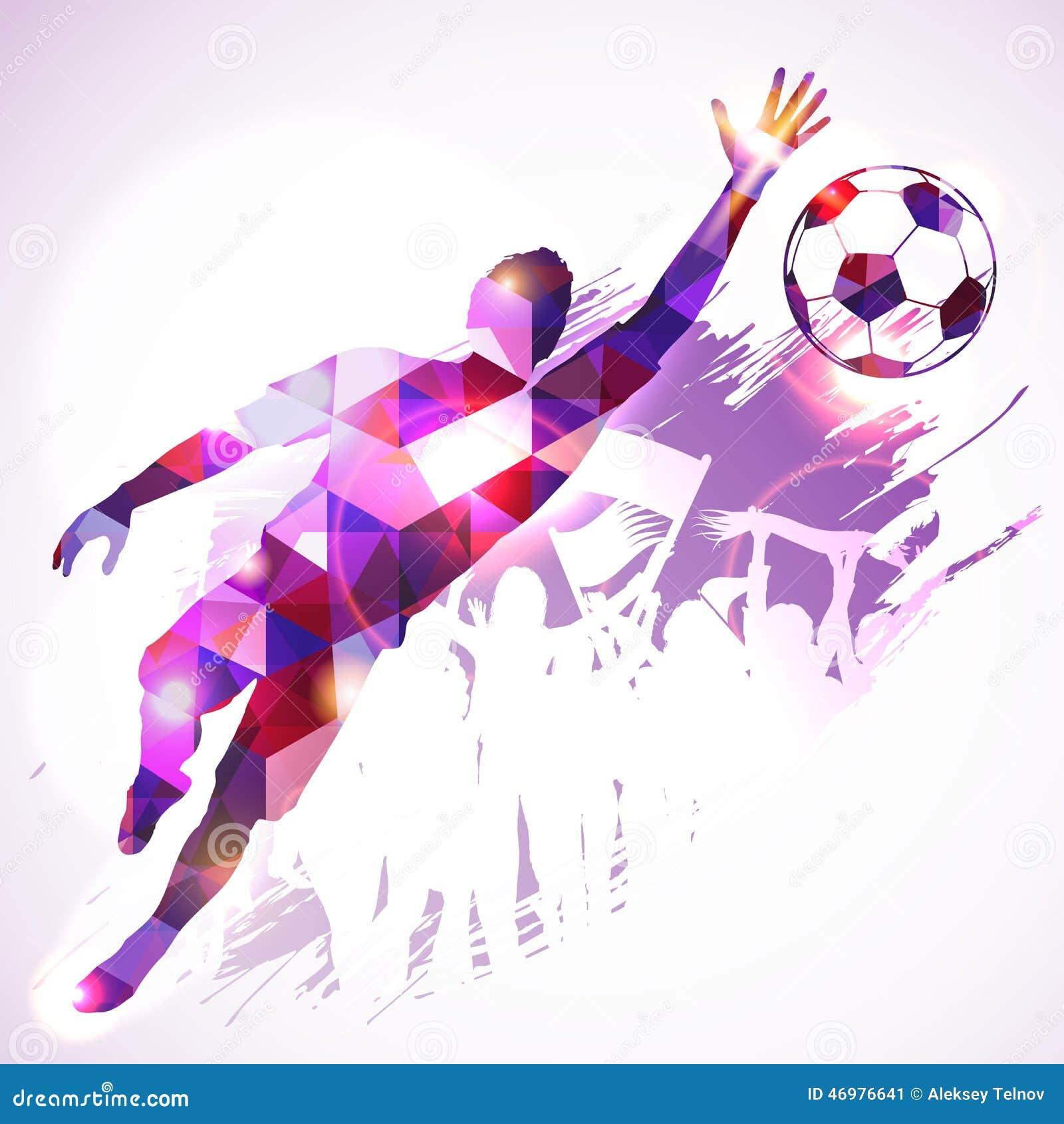 Soccer Goalkeeper Stock Vector - Image: 46976641