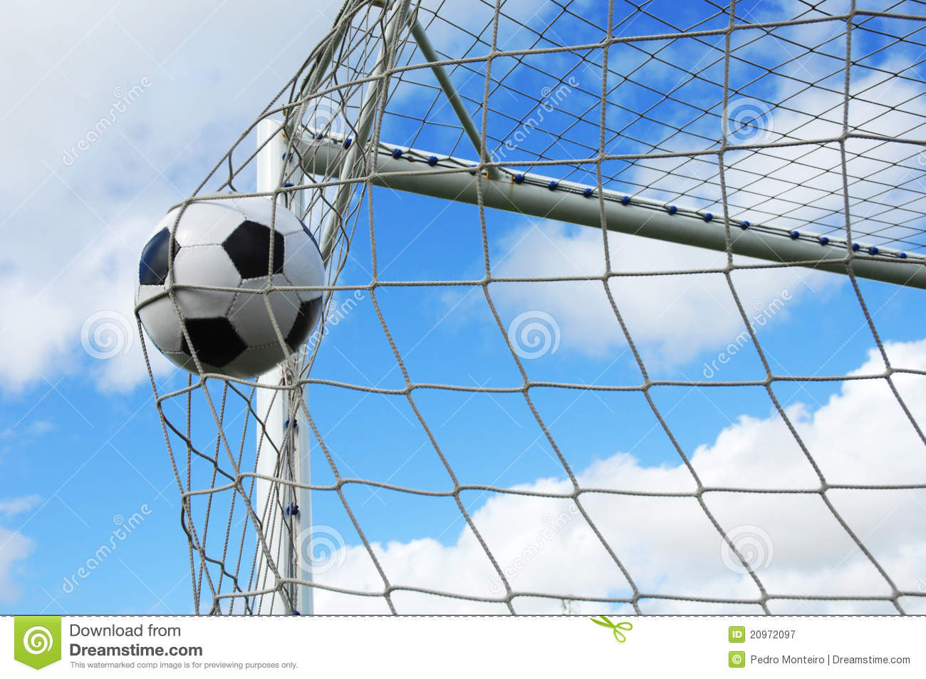 soccer gool royalty free stock photography image 20972097