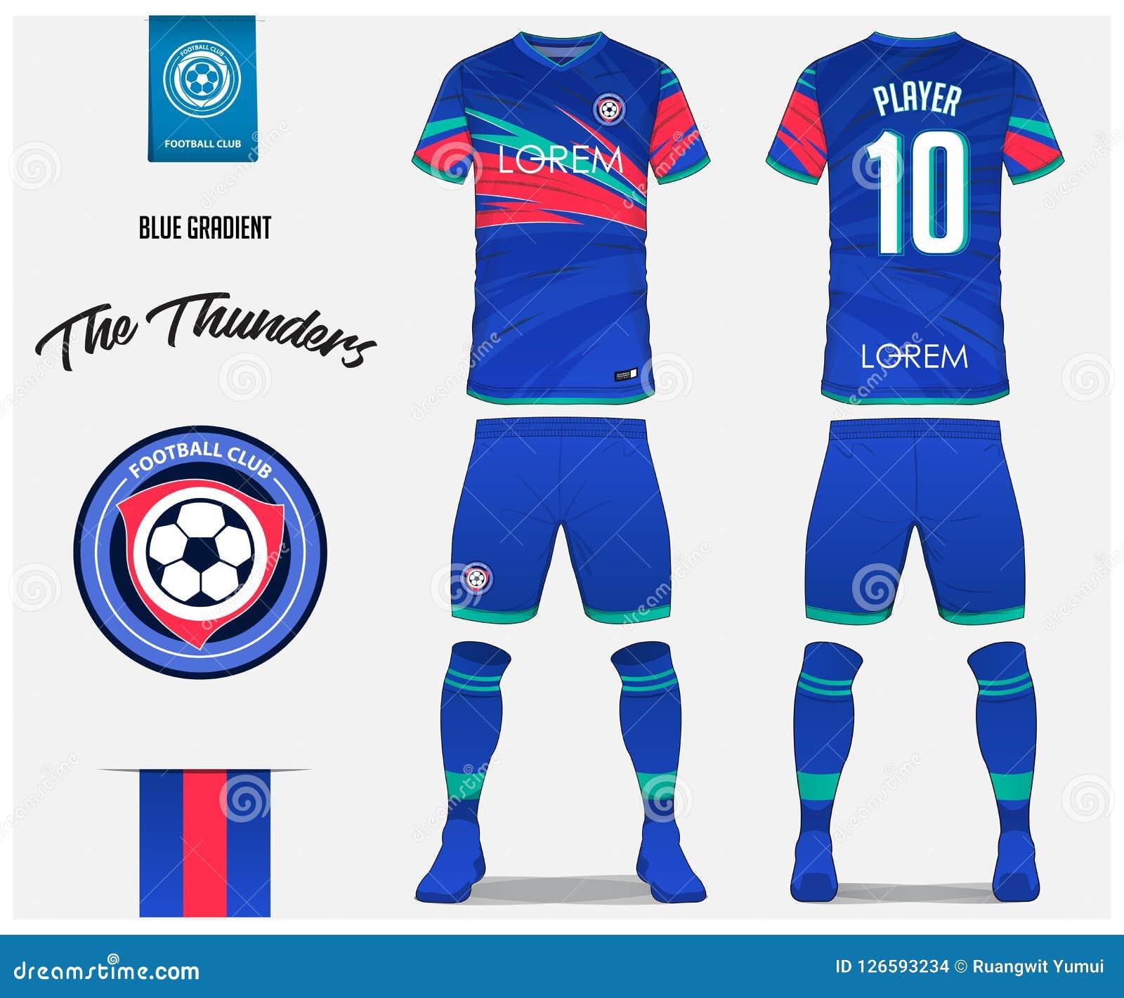 Great Jersey Template Pictures - Soccer T Shirt Design Uniform Set ... c0665c209e23e