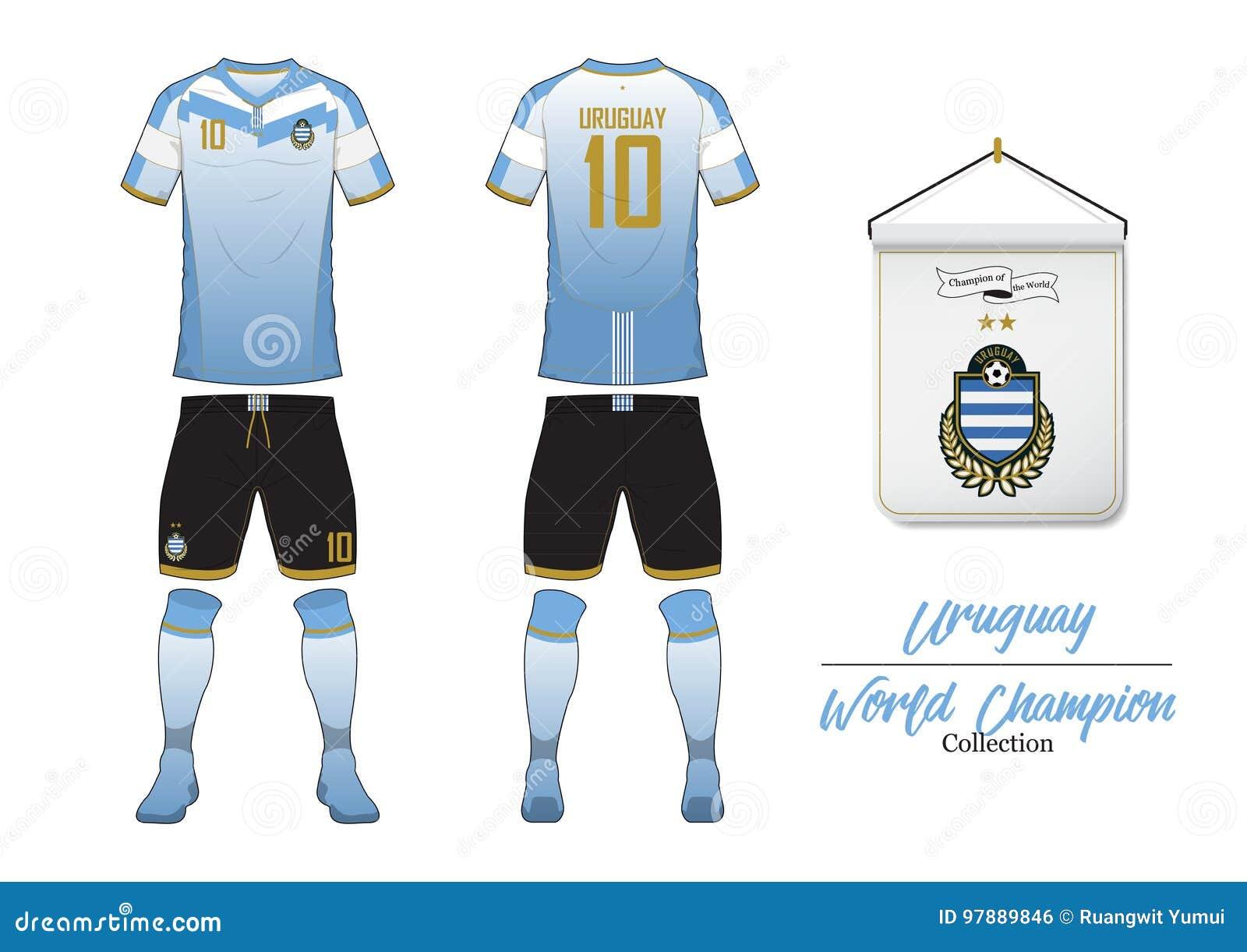 Graphics /& More Futbol Football Country z-Uruguay Flag Soccer Ball White