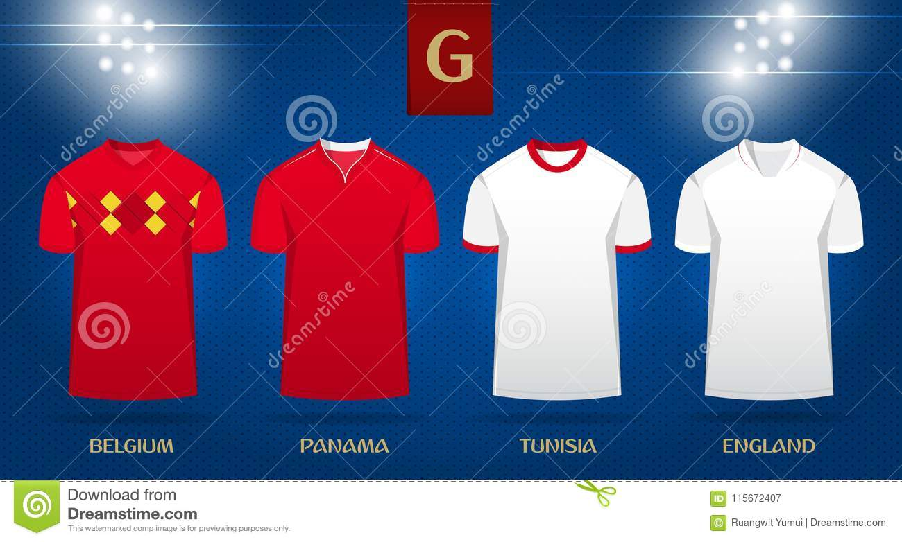 finest selection bc947 bba06 Soccer Kit Or Football Jersey Template Design For National ...