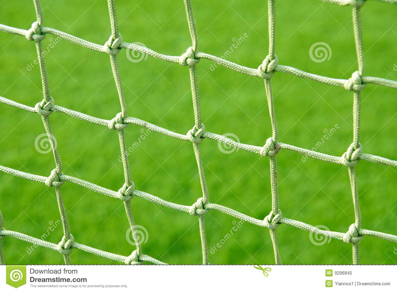Soccer net stock image. Image of goal, competition, green - 9296845