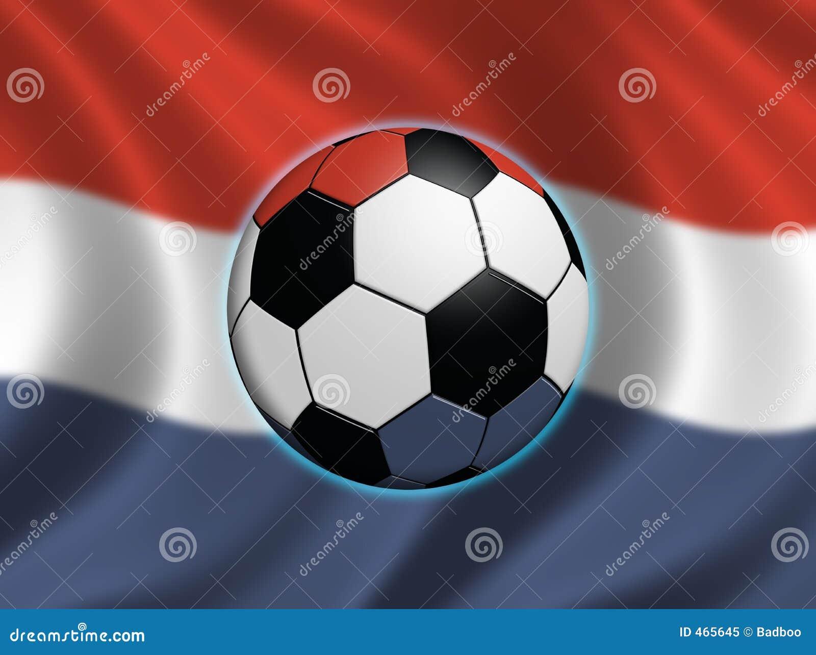 Download Soccer in the Netherlands stock illustration. Illustration of holland - 465645