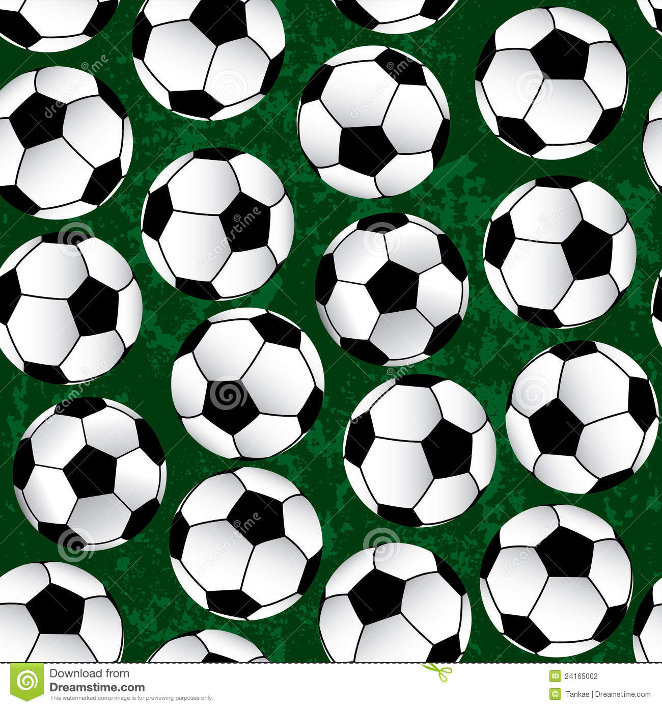 Soccer Pattern Stock Photography - Image: 24165002