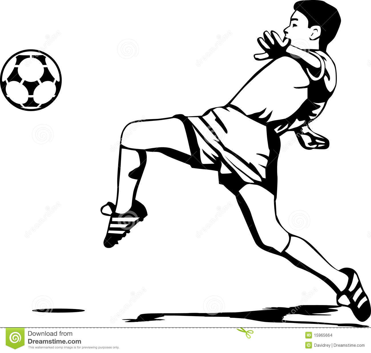 Soccer Player Stock Images Image 15965664