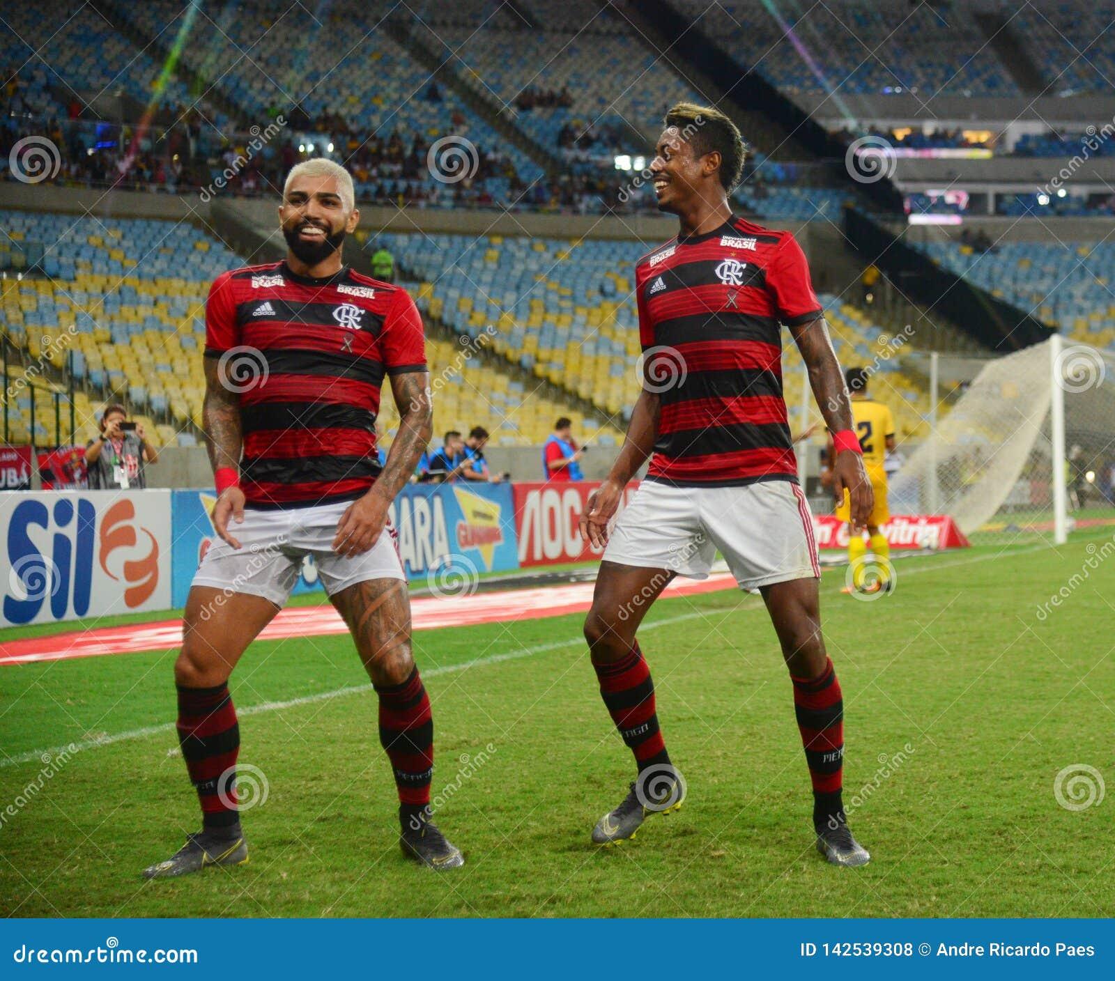 69ee565e671 Soccer Player Gabriel Gabigol Celebrates Editorial Stock Photo ...