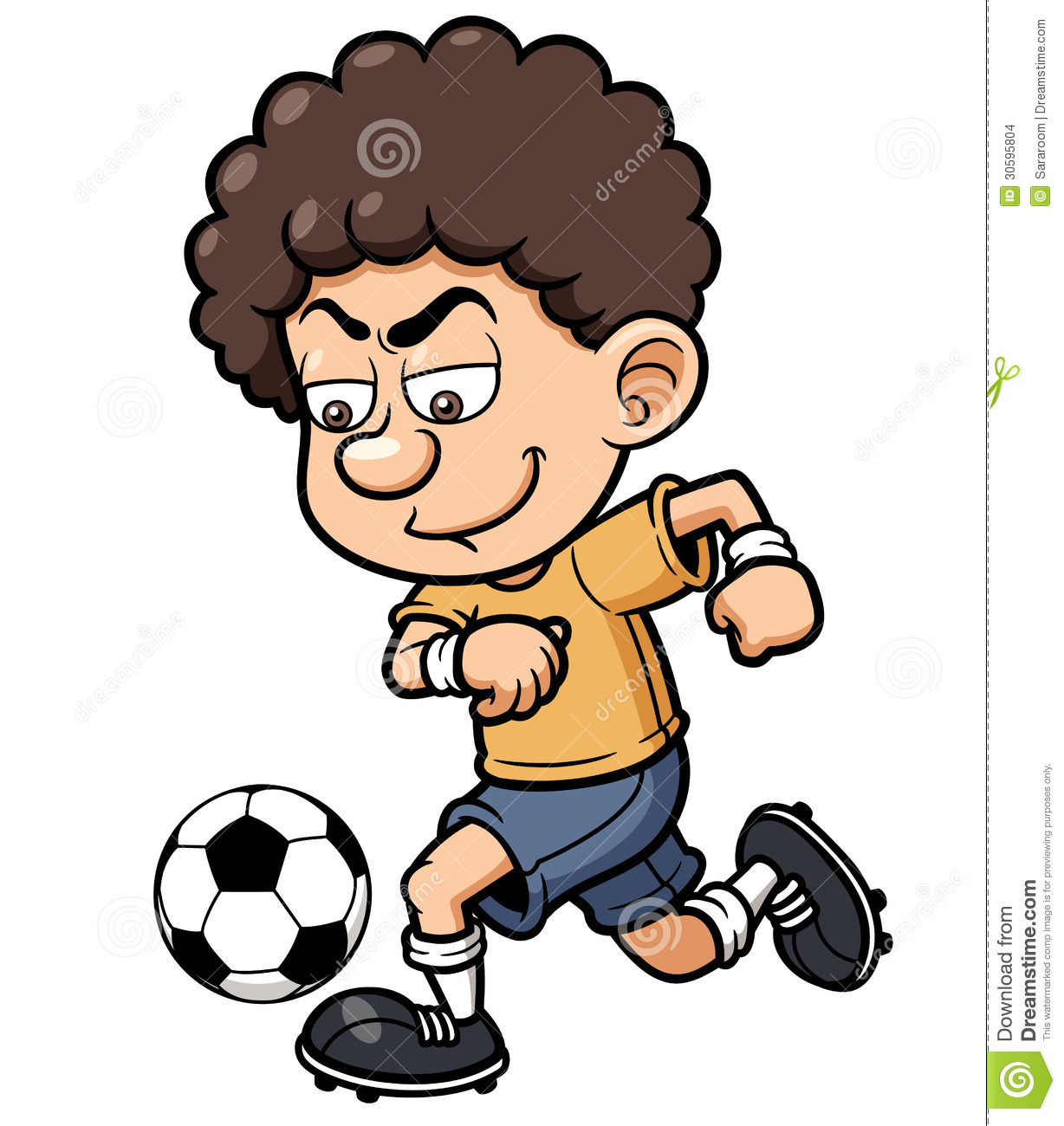 Soccer Player Stock Images - Image: 30595804