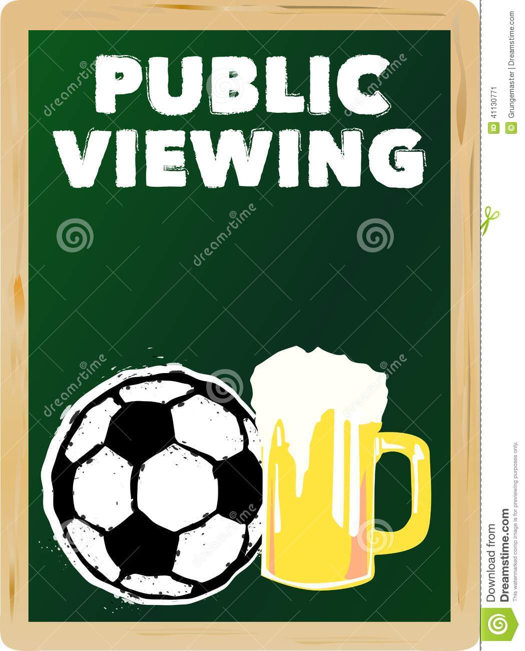 Soccer public viewing,