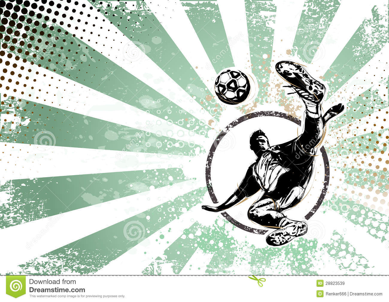 Soccer Retro Poster Background Royalty Free Stock Images - Image ...