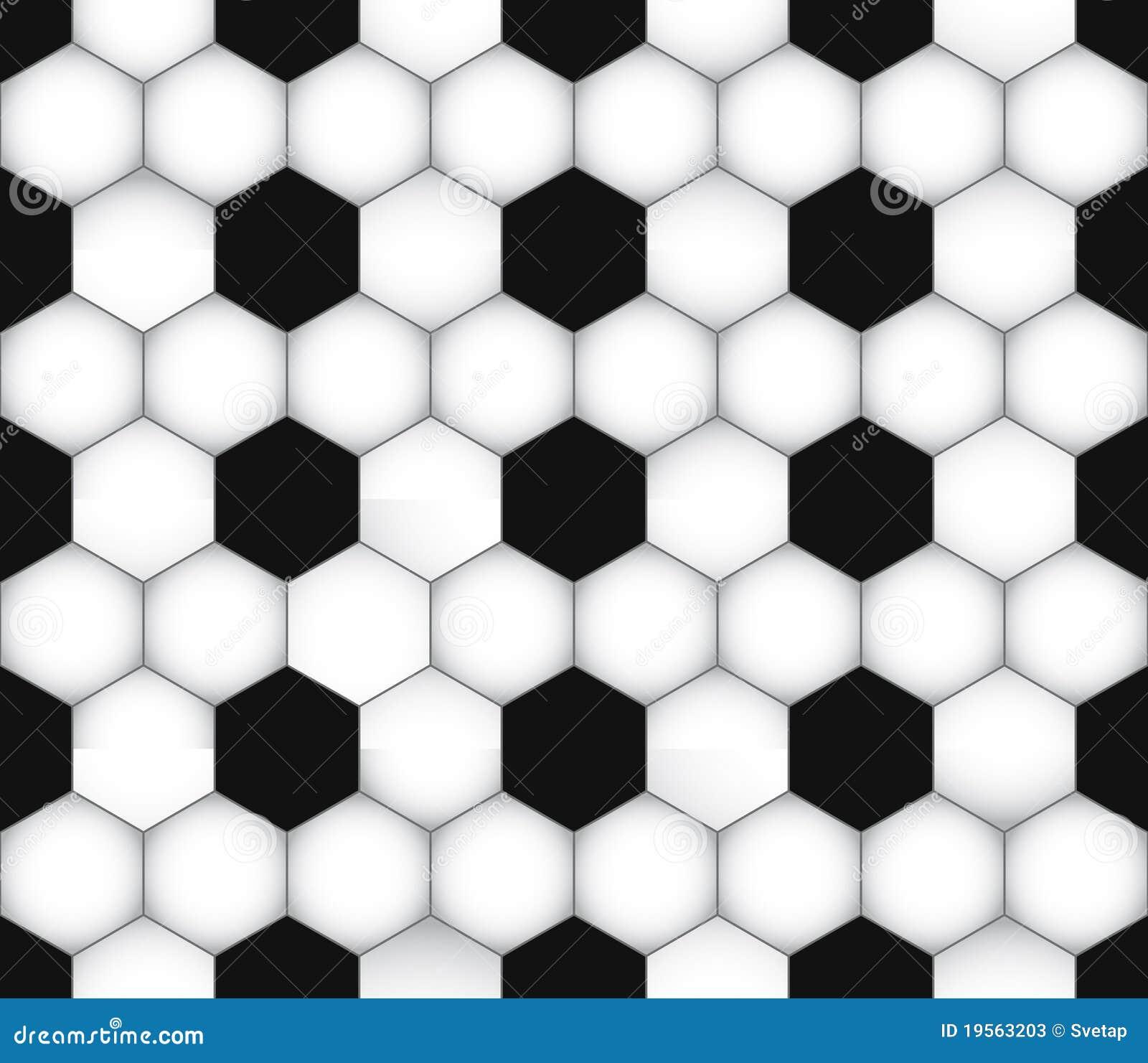 Soccer Seamless Texture Stock Photos - Image: 19563203