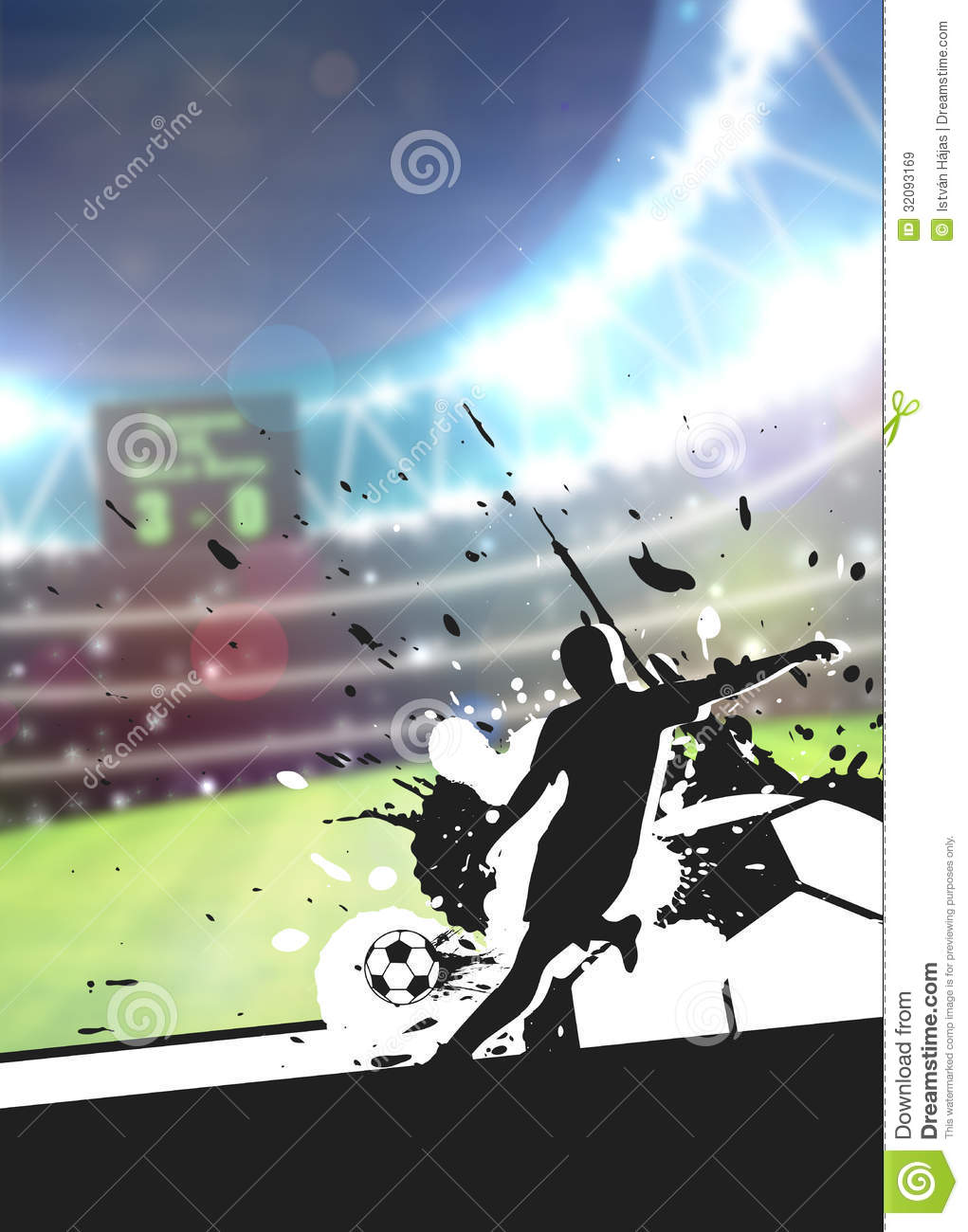 soccer sport background stock image  image of arena